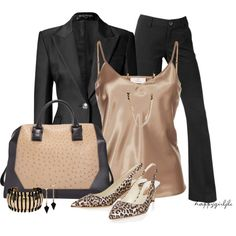 A fashion look from April 2013 featuring long sleeve blazer, rupert sanderson shoes and beige tote bag. Browse and shop related looks. Fashion 101, Work Fashion, Fashion Outfits, Womens Fashion, Fashion Trends, Fashion Styles, Classic Fashion, Daily Fashion, Fashion Ideas