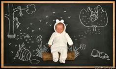 Весёлые фотосессии для самых маленьких от Anna Eftimie
