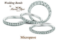 For every amazing #Flyerfit engagement ring, there is a gorgeous matching wedding band. To see more head to www.MartinFlyer.com to shop online or find the #MartinFlyer Authorized Retailer nearest you.