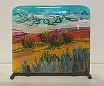 Desert Colors: Alice Benvie Gebhart: Art Glass Sculpture   Artful Home