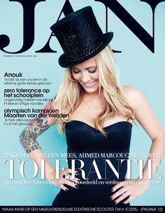 Anouk | Cover JAN Magazine 10-2009