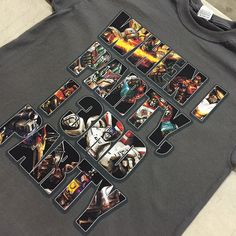 Super-awesome design printed on our Kornit Avalanche DTG printer at Visual Impressions - www.visualimp.com Digital Prints, Printer, Print Design, Cool Designs, Angel, Awesome, Shirt, Pants, T Shirts