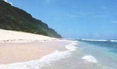 Der Nyang Nyang Beach auf Bali