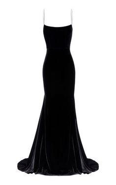 Kim Velvet Slip Dress by ALEX PERRY for Preorder on Moda Operandi