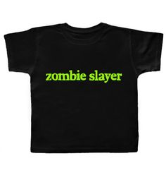 According to his daddy's theory that we'll have a zombie Apocalypse soon, he could very well turn out to be one of these. :))