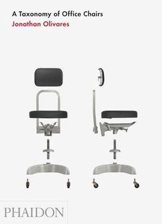 A taxonomy of office chairs. Having just bought a few second hand this sounds fascinating. Via designmilk.com