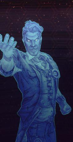 Handsome Jack Hologram