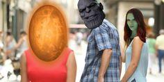 infinity war meme spoiler Thanos and Gamora