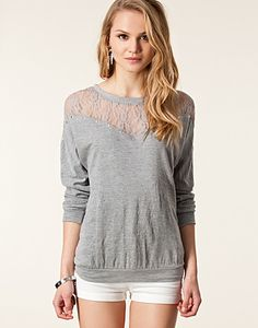 JUMPERS & CARDIGANS - VILA / MARCIANNA TOP - NELLY.COM