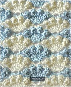 This beautiful and exquisite Crochet Shell Stitch Tutorial is wonderful. The shell stitch is very pretty, and just fans out into a fabulous design!