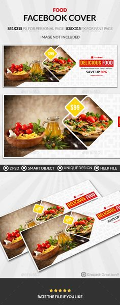 Food And Restaurant Business Facebook Cover