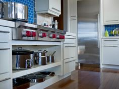 A calm and soothing space with views of both the Provo River and mountain ranges beyond, HGTV Dream Home's compact yet hardworking kitchen serves up style and utility.