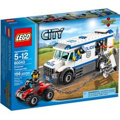 LEGO City Police Prisoner Transporter Building Set