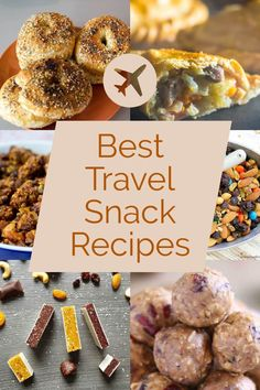 7 Mouthwatering Travel Snacks For Your Next Trip. We love healthy travel snack. Snacks List, Snack Recipes, Snacks Ideas, Road Trip Snacks, Road Trips, Healthy Travel Snacks, Healthy Foods, Non Perishable Foods, Healthy Granola Bars
