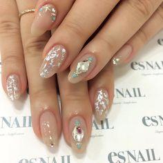 #nail#nails#nailart#naildesign#esnail#gelnail#nailgram#nailsalon#esnails#notd#ネイルサロン#ネイル#エスネイル#ジェルネイル#네일#美甲@esnail_la#simplenails#swarovski#newstone#turquoisenails#studnails#beigenails#metallicnails#foilnails#metallic#gragenails