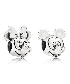 PANDORA Disney Mickey & Minnie Portrait Charm Set