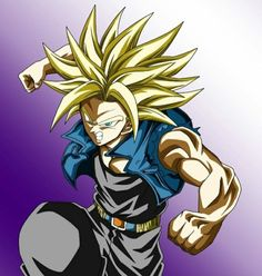 Super Trunks Dragon Ball Z Dragon Ball Z, Dragon Ball Image, Dragon Z, Super Trunks, Manga Dragon, Kid Goku, Good Anime Series, Dbz Characters, Awesome Anime