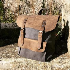 #nordlichtbags #backpack #canvas