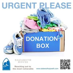 Winter is here. Urgent appeal please! We are urgently looking for secondhand clothes, if you are cleaning out or if you know of somebody, please donate your old clothes to Nazareth House. Baby clothes, kiddies clothes as well as adult clothes. We have got people in our care with really nothing. We also care for people in our Outreach programs and these clothes will help so much. We can also arrange for collection. We would appreciate any kind of assistance to help us elevate the poverty.