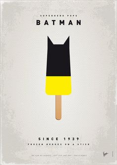 Superhero Ice Pop: Batman