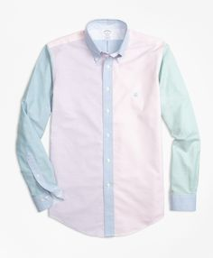 Non-Iron Regent Fit Supima® Cotton Oxford Fun Sport Shirt - Brooks Brothers