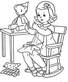 Q is for Quilter » Blog Archive » Favorite Paint Book — Little Girls