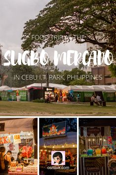 Food Heaven at the Sugbo Mercado in Cebu I.T. Park. General travel guide when visiting the Sugbo Mercado as well as tips on how to get there, what to expect and food recommendations when you visit. #sugbomercado #cebuphilippines #asia #foodtravel #osmiva #travelguide via @osmiva