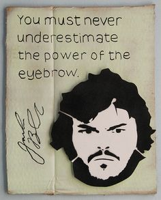 "eyebrow ""You must never underestimate the power of the eyebrow"" (or a groomed one!)"