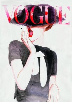 Varietats: Vogue Illustrations by Cate Parr