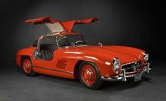 1956 Mercedes 300 SL Gull-Wing...truly one of the most beautiful cars to ever hit the road. This beauty went for $430,000 at auction recently.