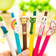 Kawaii Cartoon Plastic Ballpoint Pens Cute Lovely Cat Bird Ball Pen School Supplies Korean Stationery Free Shipping #>=#>=#>=#>=#> Click on the pin to check out discount price, color, size, shipping, etc. Save and like it!