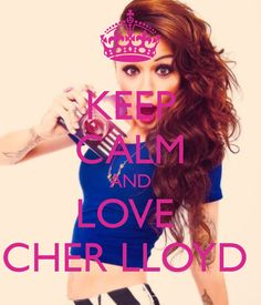 I love cher llyod. I wish this was a shirt I would buy it!