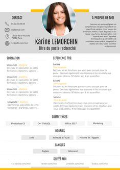 Exemple de CV Le bon CV gratuit à télécharger Site Cv, Cv Finance, Bon Cv, Cv Template, Templates, Cv Curriculum Vitae, Cv Format, Graphic Design, Letters
