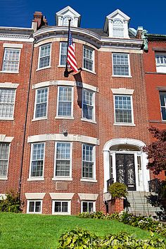 Georgian Brick Townhouse Row House Washington DC