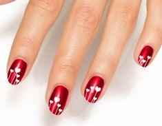 45 Lifesaver Red Nail Designs