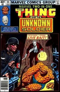 Super-Team Family: The Lost Issues!: The Thing and The Unknown Soldier Marvel Vs, Marvel Dc Comics, Joe Kubert, Unknown Soldier, War Comics, Comic Drawing, Marvel Comic Books, Comics Universe, Comic Book Covers