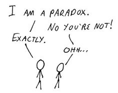 Are you a paradox?