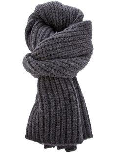 MELINDA GLOSS knitted scarf