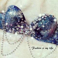Galaxy Rave Bra by TheLoveShackk on Etsy Aimee Rave Festival, Festival Wear, Festival Outfits, Festival Fashion, Rave Costumes, Belly Dance Costumes, Fairy Costumes, Bedazzled Bra, Halloween Karneval