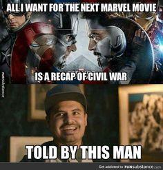 of Marvel Memes, Animation and Images - Civil War Edition Marvel Dc Comics, Marvel Squad, Marvel Avengers, Heros Comics, Avengers Humor, Marvel Jokes, Funny Marvel Memes, Dc Memes, Funny Memes