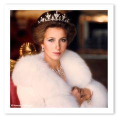 Британская Катрин Денев: принцесса Анна, какой вы ее не знали | Marie Claire