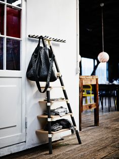 Great coat rack. Modern take with a farmhouse feel. From the IKEA-PS-2014-Collection-On-The-Move-4
