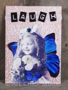 Laugh Fairy ATC