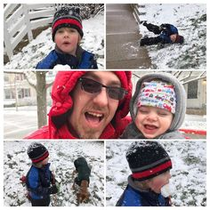 Goofiness in the snow