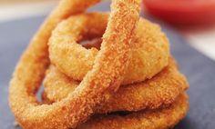 Onion rings: gli anelli di cipolla fritti sfiziosi e croccanti come in America! - LEITV