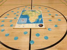 Länkkärin koulun arkea ja juhlaa: Afrikan tähtöset Activity Games, Activities, Motor Skills, Geography, Environment, Kids Rugs, Learning, School, Sports