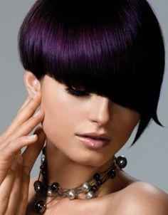 hair color ideas with brown and plum | ... hair with orange highlights cherry red hair deep dark caramel with
