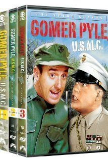 Gomer Pyle wears hit heart on his sleeve. He always gets yelled at, but Gomer is always smiling and full of love. Great show!