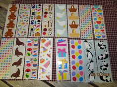 Vintage Assortment Mrs Grossman's Stickers Lot Seals Geese Fiesta Tea Set & Many more Rare HTF- #11611 by EvenTheKitchenSinkOH on Etsy