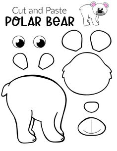 Looking for a fun and easy arctic animal craft idea to do with your preschooler this winter? Click to get this free printable polar bear template to make this cut out polar bear craft! With the step-by-step tutorial, this cute polar bear craft is perfect for kids of all ages, including preschoolers, toddlers and kindergartners! #polarbears #polarbearcrafts #arcticanimals #arcticanimalcrafts #SimpleMomProject Penguin Coloring, Animal Coloring Pages, Animal Crafts For Kids, Easy Crafts For Kids, Baby Harp Seal, Bear Template, Cute Polar Bear, Bear Crafts, Creative Arts And Crafts
